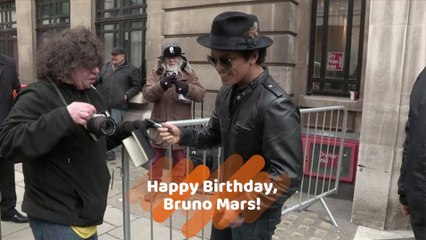 Bruno Mars Is 35