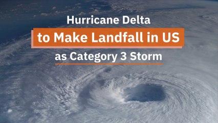 Hurricane Delta Is Coming