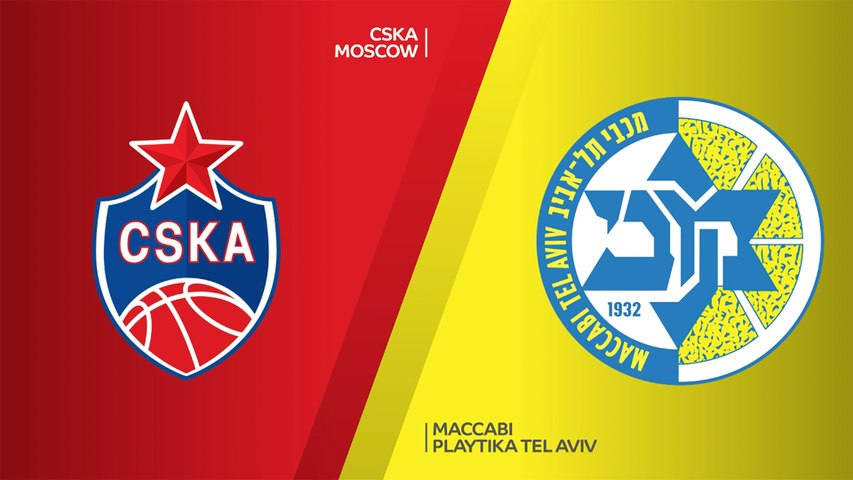 CSKA Moscow - Maccabi Playtika Tel Aviv Highlights | Turkish Airlines EuroLeague, RS Round 2