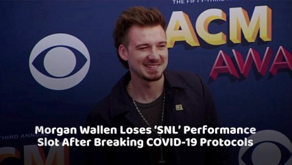 Morgan Wallen Lost The SNL Gig
