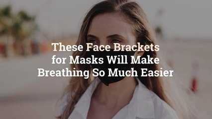 These Face Brackets for Masks Will Make Breathing So Much Easier