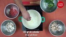 Sopa de setas y champiñones