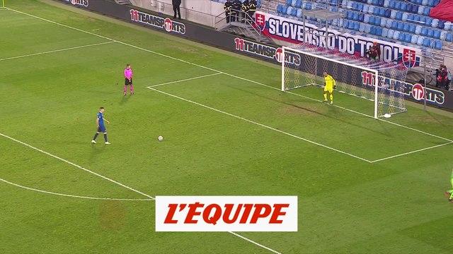 Les tirs au buts de Slovaquie - Irlande - Foot - Euro - Barrages