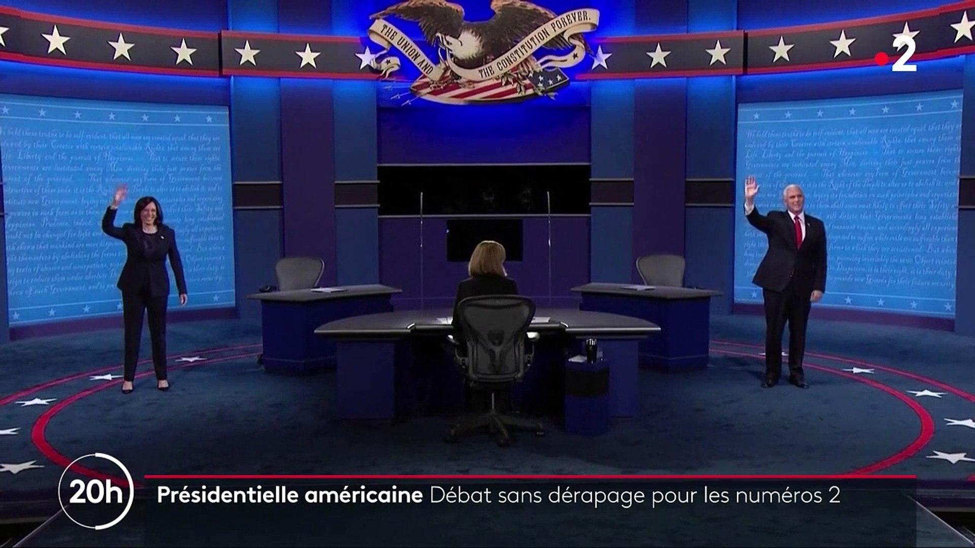 Présidentielle américaine - un débat policé entre Kamala Harris et Mike Pence
