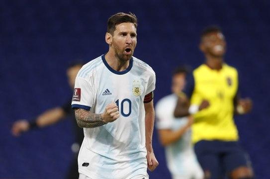 Qualifs Mondial 2022 : Comme souvent, Messi sauve l'Argentine