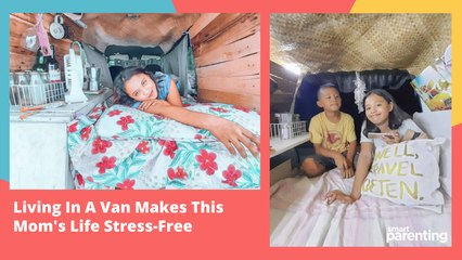 Living In A Van Makes This Mom's Life Stress-Free