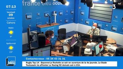 La matinale de France Bleu Occitanie du 09/10/2020