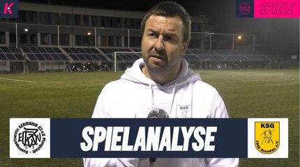 Die Spielanalyse | RSV Germania Pfungstadt - KSG Brandau (Kreispokal, 1. Runde)
