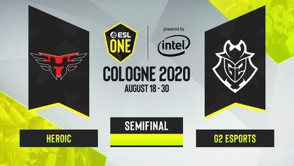 CSGO - G2 Esports vs. Heroic [Nuke] Map 2 - ESL One Cologne 2020 - Semifinal - EU
