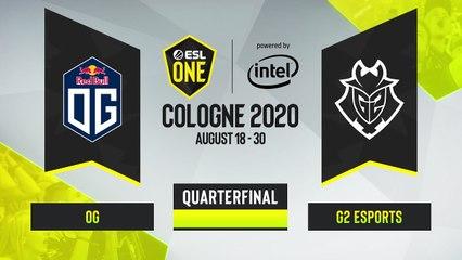 CSGO - G2 Esports vs. OG [Dust2] Map 3 - ESL One Cologne 2020 - Quarterfinal - EU