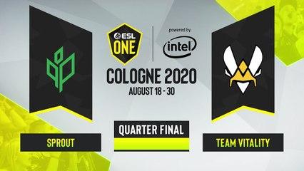 CSGO - Sprout vs. Team Vitality [Vertigo] Map 1 - ESL One Cologne 2020 - Quarterfinal - EU