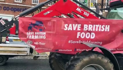 Farmers Protest at Stokesley