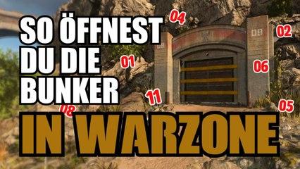 So öffnest du die Bunker in Warzone