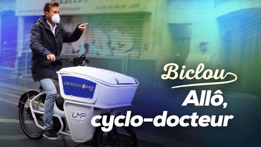 Ce médecin fonce à vélo-cargo chez ses patients