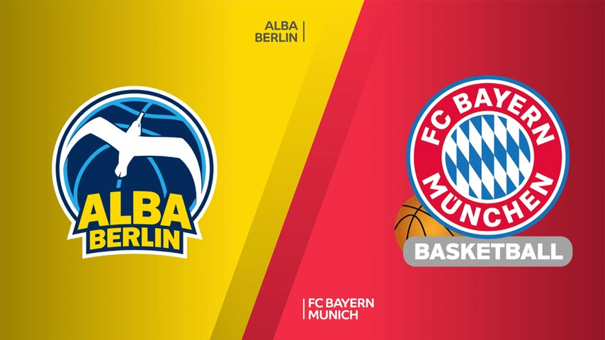 ALBA Berlin - FC Bayern Munich Highlights | Turkish Airlines EuroLeague, RS Round 2