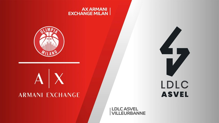 AX Armani Exchange - LDLC ASVEL Villeurbanne Highlights | Turkish Airlines EuroLeague, RS Round 2