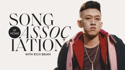 Rich Brian Raps Jay-Z, Kanye West, and Kendrick Lamar in a Game of Song Association | ELLE