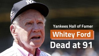 Whitey Ford Has Died