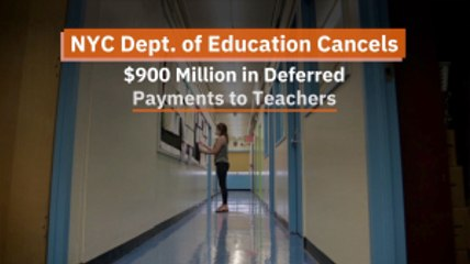 Massive Deferred Payment To Teachers