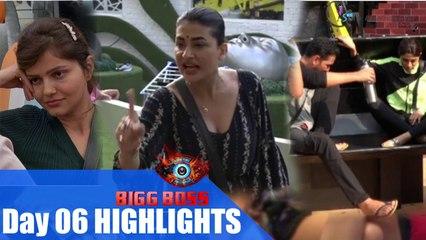 Bigg Boss S14 Day 06 HighLights । Bigg Boss 14। Rubina locks Horns with Senior Hina over BB mall