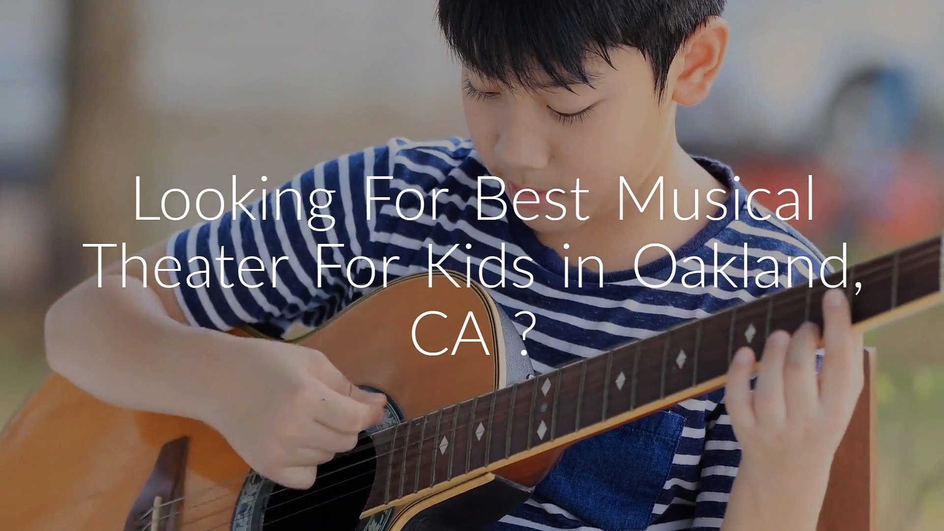 Mr. D's Music Club : Musical Theater For Kids