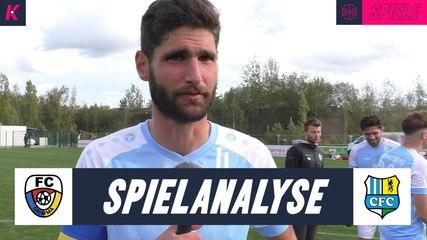 Die Spielanalyse | FC Grimma – Chemnitzer FC (3. Runde, Sachsenpokal)
