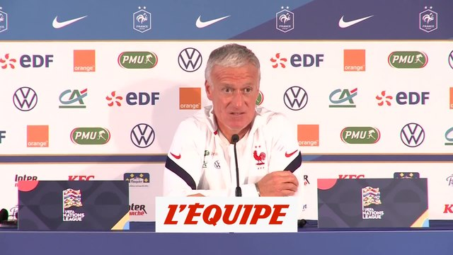Deshamps : «On n'aura pas un Portugal affaibli, bien au contraire» - Foot - L. Nations