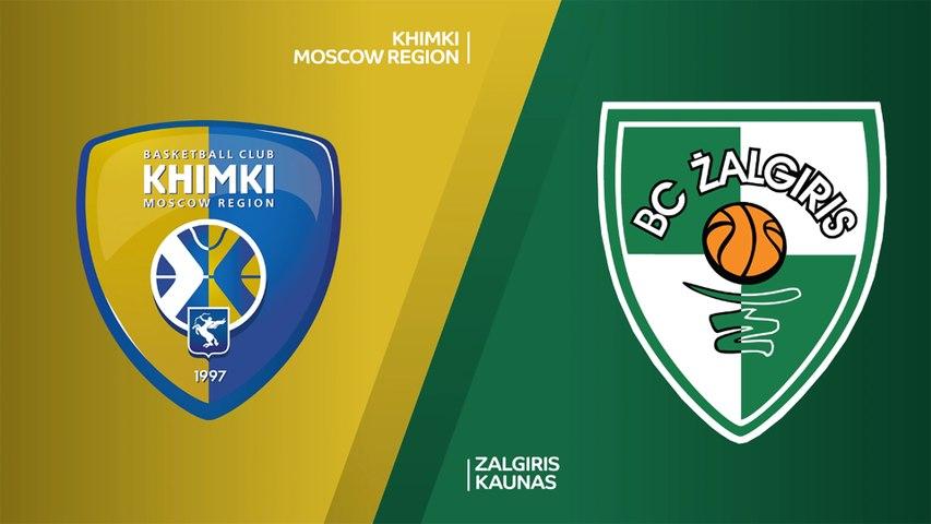 Khimki Moscow Region - Zalgiris Kaunas Highlights | Turkish Airlines EuroLeague, RS Round 2