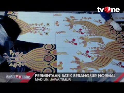 Batik Kampung Pesilat Rambah Pasar Mancanegara