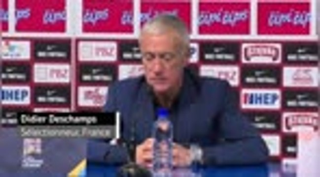 "Ligue des Nations - Deschamps : ""La Croatie est une très belle nation"""