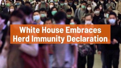 The White House On Herd Immunity