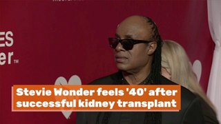Stevie Wonder's New Kidney