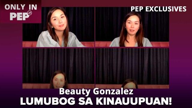 Beauty Gonzalez, NAPALUBOG SA UPUAN dahil sa tanong na ito! | PEP Challenge