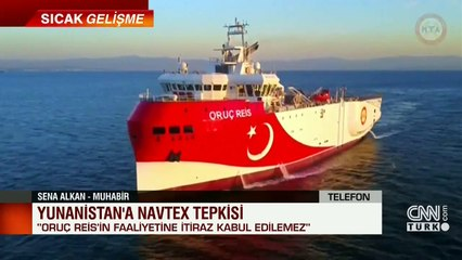 Özel Haber... Yunanistan'a NavTex tepkisi... Detayları Sena Alkan aktardı | Video