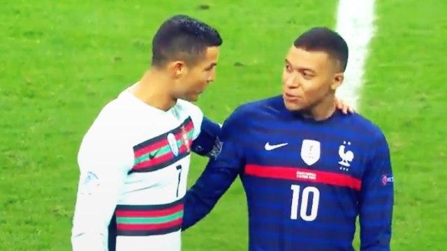 L'échange génial entre Cristiano Ronaldo et Kylian Mbappé sur la pelouse | Oh My Goal