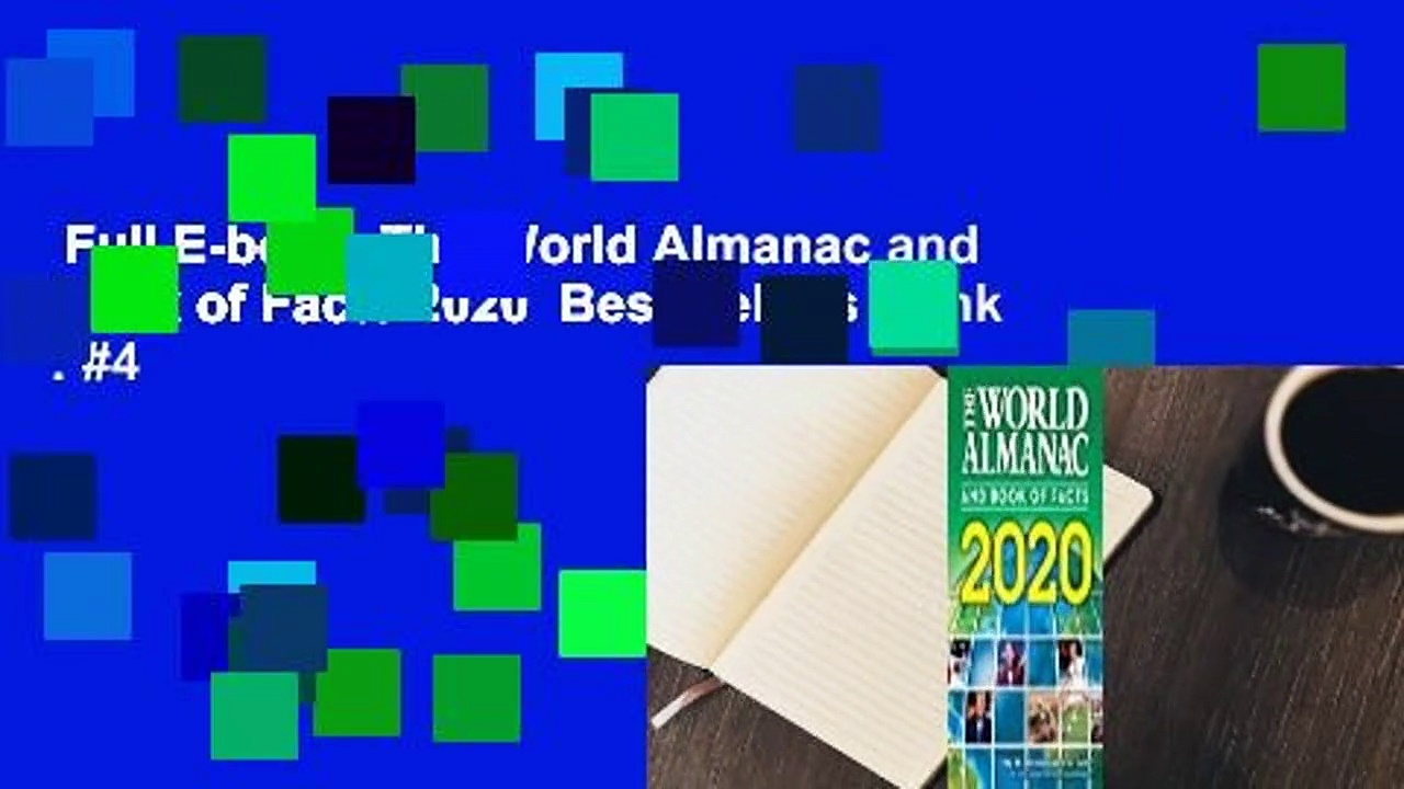 Full E-book  The World Almanac and Book of Facts 2020  Best Sellers Rank : #4