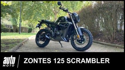 Zontes 125 Scrambler ESSAI POV Auto-Moto.com