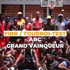 Le tournoi test de la FIBB