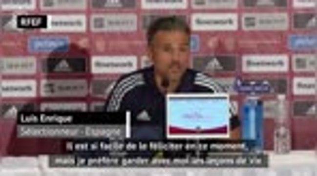 """Espagne - Luis Enrique : """"Nadal est la fierté de notre pays"""""""