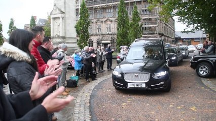 """Public pay respects to  Keith Roberts, Prestons very own """"Spudman"""""""