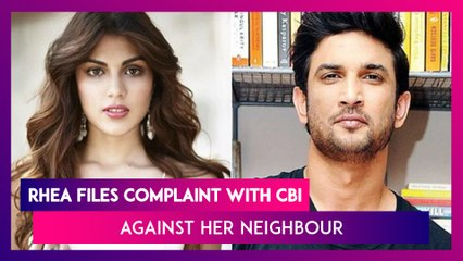 Rhea Chakraborty Files Complaint With CBI Against Her Neighbour Dimple Thawani in Sushant Singh Rajput case