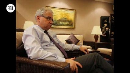 Russian Ambassador Khovaev talks to TMT