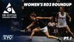 Squash: CIB Egyptian Squash Open 2020 - Women's Rd 3 Roundup [Pt.1]