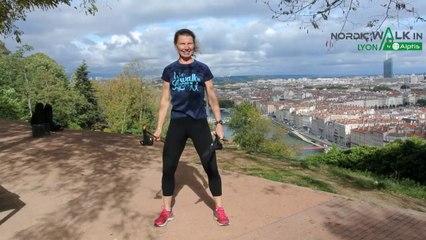 NordicWalkin'Lyon by Alptis 2020 - Echauffement animé par Sylvie Vitelli - Participants hors Lyon