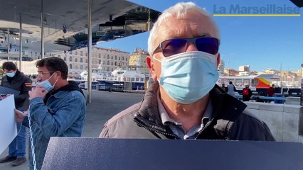 En péril, les métiers de l'événementiel manifestent à Marseille