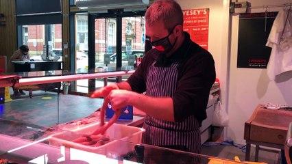 Sam Livesey at Preston Market