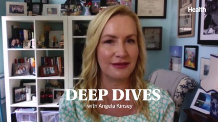 Deep Dives with Angela Kinsey: This Is Angela Kinsey's Top Coping Strategy During the Pandemic
