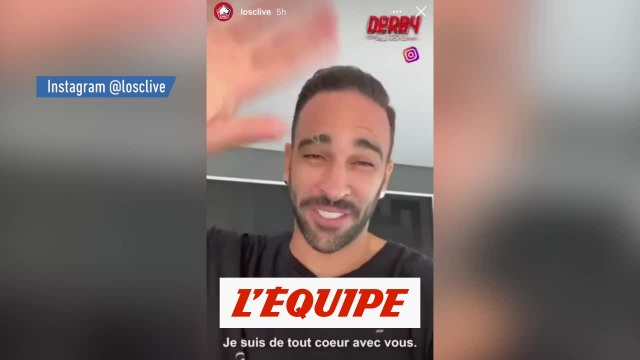 Adil Rami encourage les Lillois avant le derby - Foot - WTF