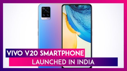 Vivo V20 With 44MP Selfie Camera Launched In India; Check Prices, Features & Specs