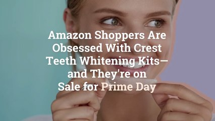 Amazon Shoppers Are Obsessed With Crest Teeth Whitening Kits—and They're on Sale for Prime